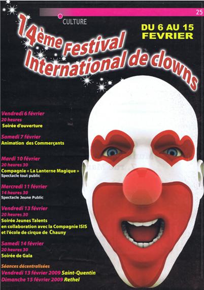 Affiche Clown 2009