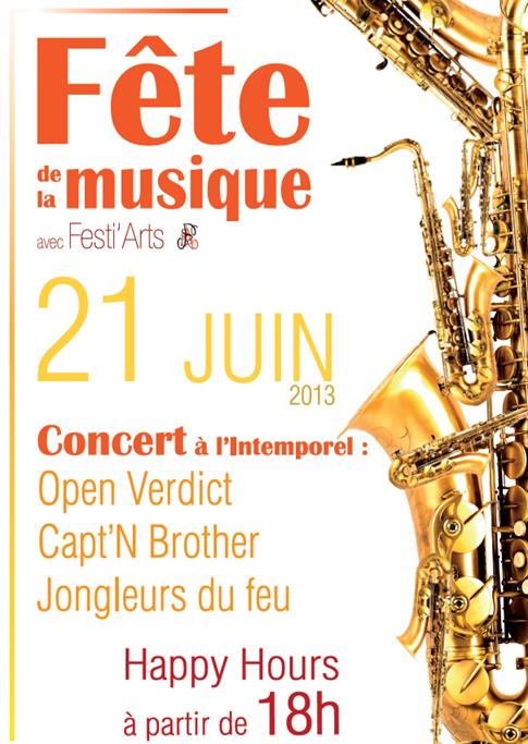 Fête musique 2013 Sault les Rethel