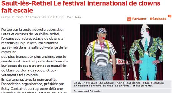 article clowns 2009