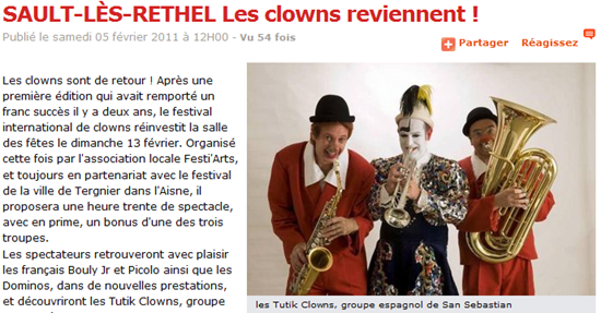 article clowns 2011 2