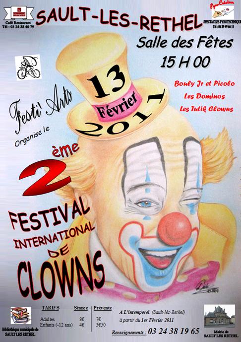 Affiche Clowns 2011