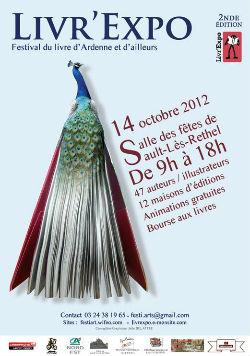 Affiche Livr`Expo 2012